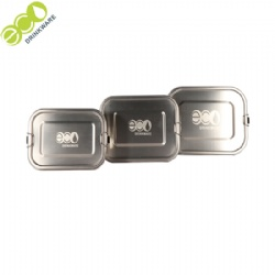Hot Selling Eco-friendly Lunch Box Stainless Steel Food Containers
