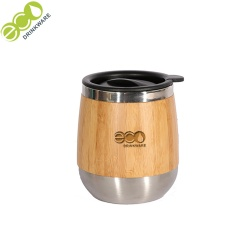 GB8016 400ml Bamboo Travel Camping Coffee Mugs Cup