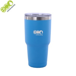 Double wall stainless steel travel vacuum flask thermos insulated