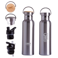 In stock Double wall stainless steel travel vacuum flask thermos