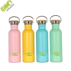 No minimum in stock 18/8 sports stainless steel water bottle